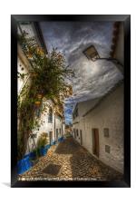 Algarve cobbles, Framed Print