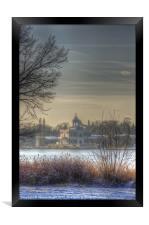 Ice palace, Framed Print