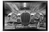 Old Jaguar S, Framed Print