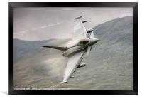 Typhoon with fluff over the wings, Framed Print