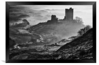 Dolwyddelan castle, Framed Print