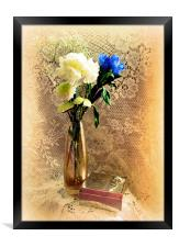 Flowers and Old Lace, Framed Print
