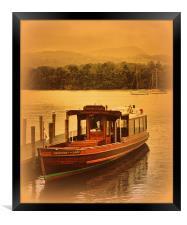 Princess of the Lake, Framed Print