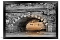 Bridge at Port Sunlight, Framed Print