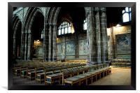 Cathedral Mosaics, Framed Print