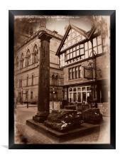 Roman Remains, Chester., Framed Print