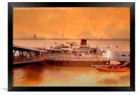 Mersey Ferry, Framed Print
