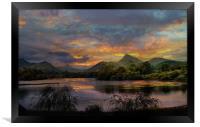 Derwent Water., Framed Print