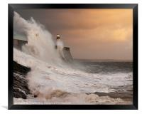Porthcawl Lighthouse, Framed Print
