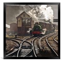 Bury Bolton St. Station, Framed Print