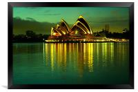 Sydney Opera House, Framed Print