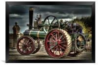 Traction Engine PT1916, Framed Print