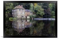 The Fulling Mill, Framed Print