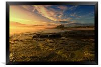 Bamburgh Sunrise, Framed Print