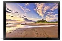 Bamburgh Castle, Framed Print