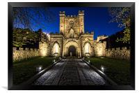 Durham Castle, Framed Print