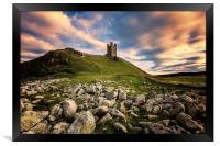 Dunstanburgh Castle, Framed Print