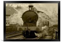 Steam Train - Grosmont NYMR, Framed Print