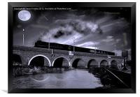 The Night Train, Framed Print