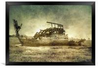 Abandoned, Framed Print