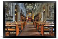 Buckfast Abbey, Framed Print