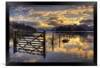 Derwentwater Dreams, Framed Print