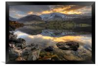 Wastwater, Cumbria, Framed Print