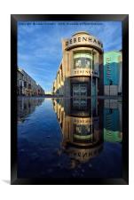 Albert Road, Blackpool, Framed Print