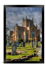 New Abbey Church, Framed Print