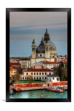 Domes and Cupolas, Framed Print