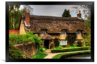 Cottage by the Thornton Beck, Framed Print