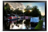 Linlithgow Canal Centre, Framed Print