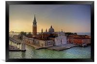 San Giorgio Maggiore, Framed Print