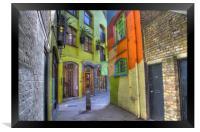 Neal's Yard London, Framed Print