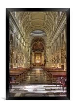 Palermo Cathederal, Framed Print