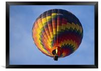 Up And Away, Framed Print