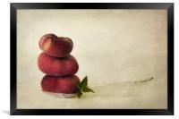 act of balance, Framed Print