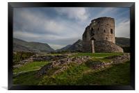 Dolbadarn Castle, Framed Print