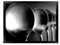 Soup Spoons - Still Life, Framed Print