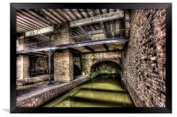 Grocers Warehouse Castlefield Manchester, Framed Print