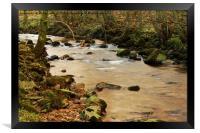 MUKER RIVER, Framed Print