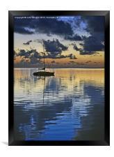 Dawn., Framed Print