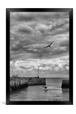Bridlington Harbour, Framed Print