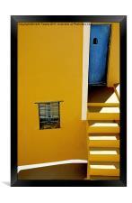 Santorini Canvases & Prints, Framed Print