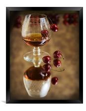 Cherry Brandy, Framed Print