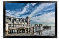 Penarth Pier, Framed Print