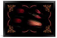 Invasion From Mars, Framed Print