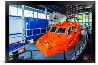 Tenby Lifeboat 2, Framed Print