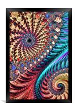 Vivid Mix, Framed Print