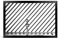 Refraction Drops, Framed Print